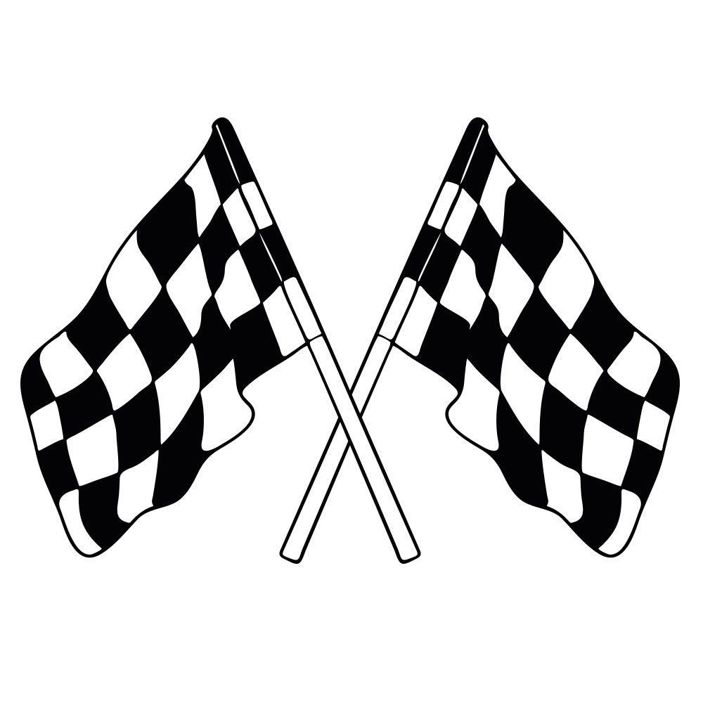 Ziel Flagge