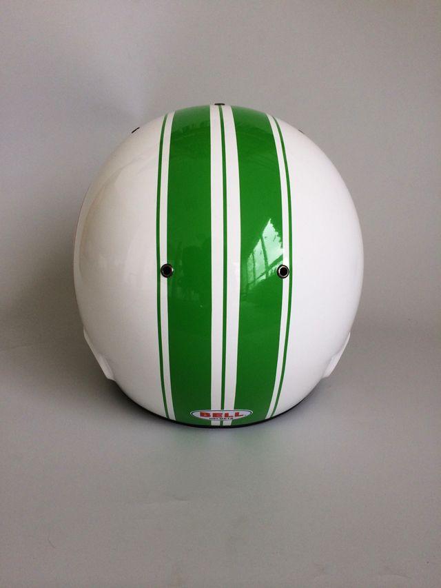 Helmdesign Und Helmfolierung Bell Renn Helm Irace Design