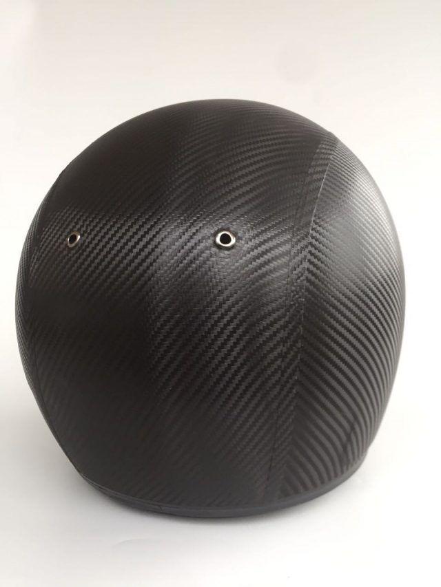 Helmfolierung komplett carbon fiber flechtmuster folie